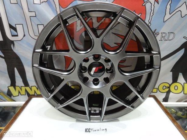 ULTIMA UNIDADE Jante Original Japan Racing JR18 17x7 ET40 4x100/114 Hyper Black