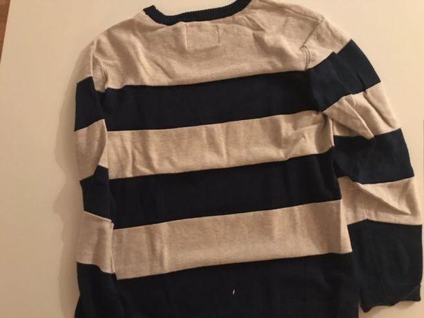 Sweter damski w paski xs/s