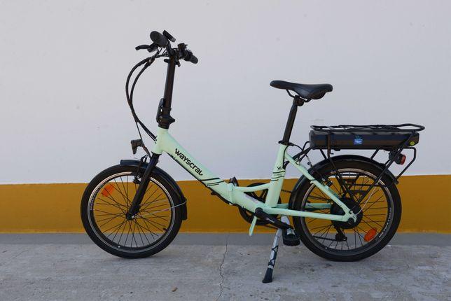 Bicicleta elétrica dobrável Wayscral