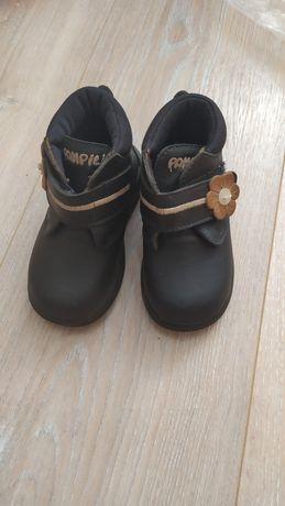 Ботинки pampili кожа