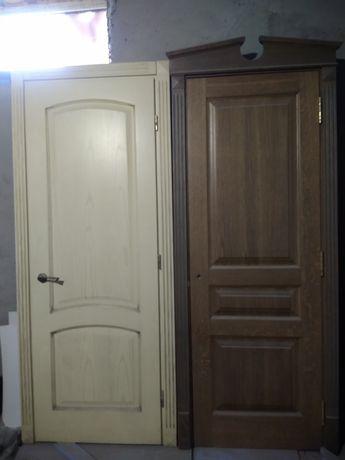 2800 грн..Межкомнатные двери натуральное дерево