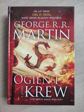 """Książka """"Ogień i krew"""" część 1, George R.R. Martin"""