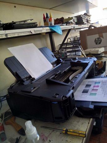 Reparação de impressoras e fotocopiadoras