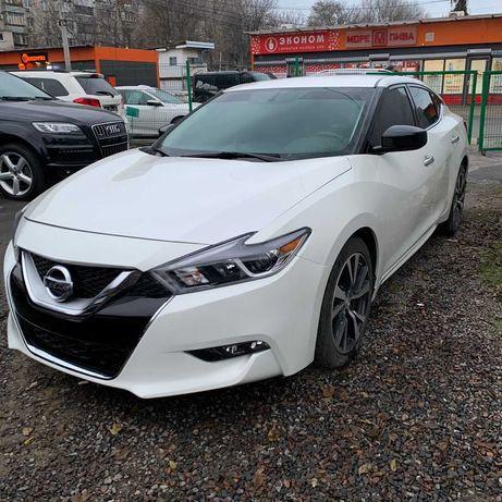 Nissan maxima 2017 белая