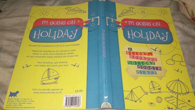 книга на английском Andrew Geeson I'm Going on Holiday Buster Books