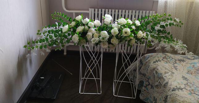 Украшение свадебное на стол