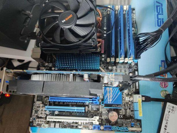 Комплект сокет 1366 (ASUS P6X58D Premium, e5649, gtx 550ti, ОЗУ 12гб)