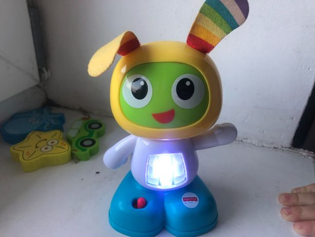 Робот Бибо на анг.мові