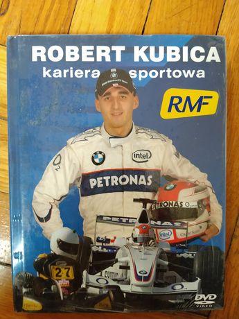 Robert Kubica - kariera sportowa. NOWA książka z filmem na DVD