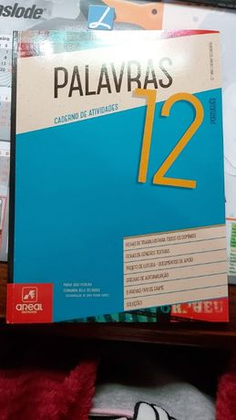 Caderno de Atividades Palavras 12 Areal editores