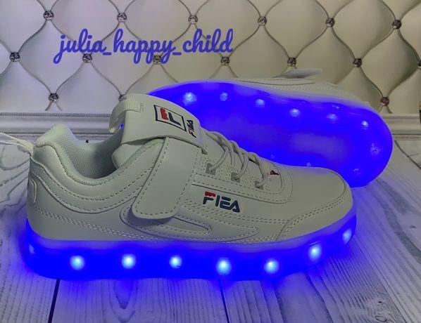LED кроссовки светящиеся, светящиеся кроссовки с USB подзарядкой