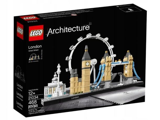 LEGO ARCHITECTURE 21034 Londyn 468el