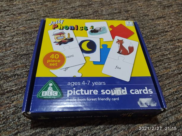 Picture sound cards