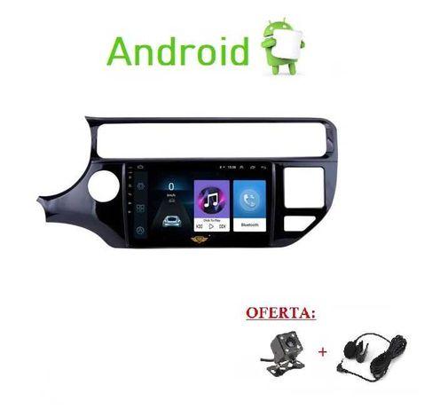 (NOVO) Rádio 2DIN • KIA Rio • (Desde 2005 a 2017) • Android GPS WIFI