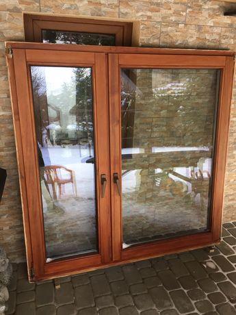 Okno drewniane urzędowski 150 cm x 150 cm