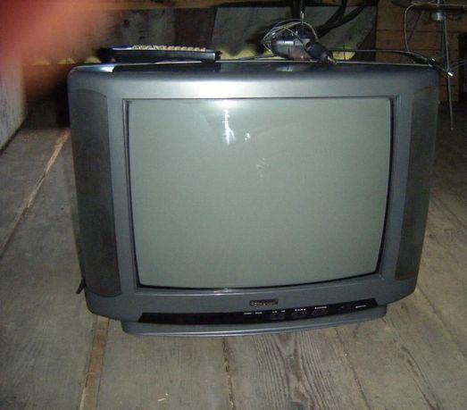 Telewizor Royal Lux 21 cali + Pilot + Wzmacniacz Anteny