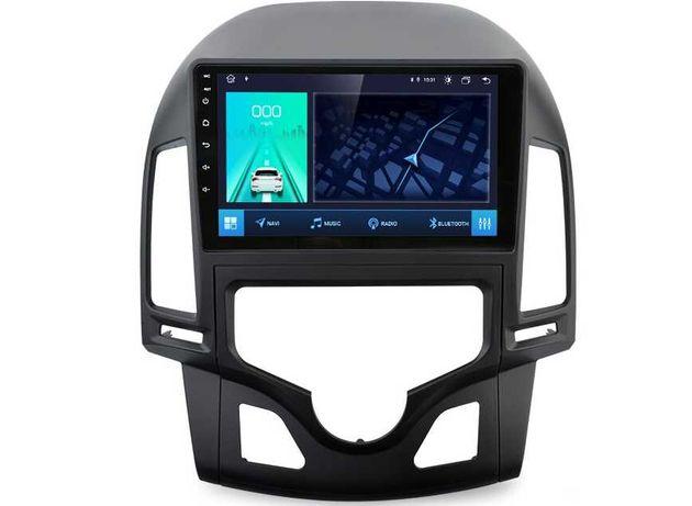 Radio nawigacja ANDROID Hyundai I30 2007=2011 WiFi Bluetooth