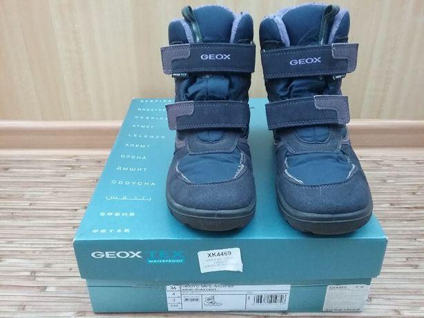 Детские зимние сапоги GEOX ХК4469 J44DAG-OFUAU-C4002 Размер 36