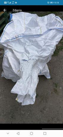 BIG BAG worki na odpady 88x88x178 cm mocne uszy