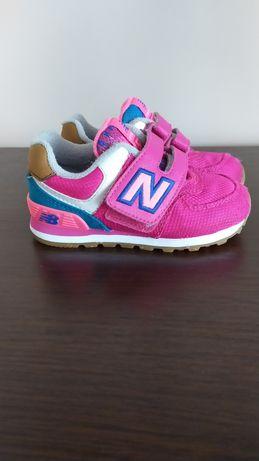 New Balance 22.5 różowe, adidasy, sneakersy, buty