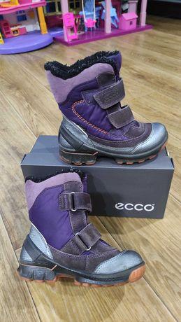 Термо сапожки, сапоги, ботинки   Gore-tex  Ecco biom