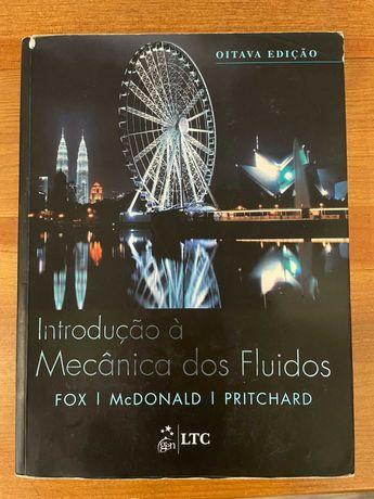 Livro para Engenharia - Introdução à Mecânica dos Fluidos, Fox 8 ed