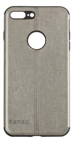 Чохол iPhone 7 Plus Remax Leather Series Чорний Сірий Червоний