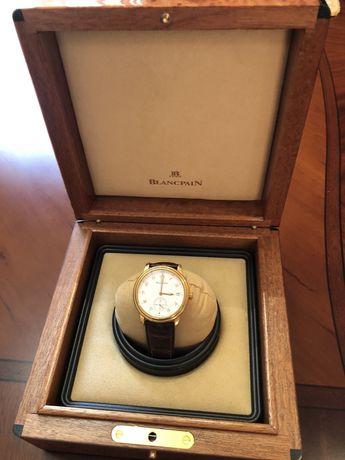 Продам оригинальные золотые часы Blancpain Villeret!