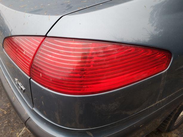 Peugeot 607 prawa tylna lampa