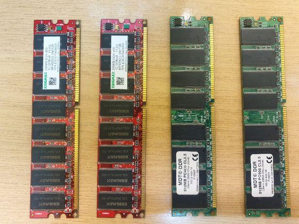 Pamięć RAM DDR 400, 1,5GB, dla płyty Dual RAM