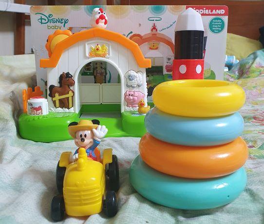 Kiddieland Mickey Mouse disney Ферма Микки