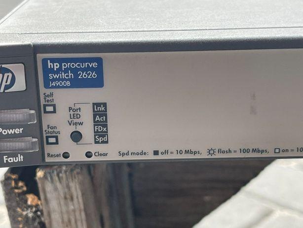 Свитч управляемый Коммутатор HP ProСurve switch 2626 (J4900B / Layer 2