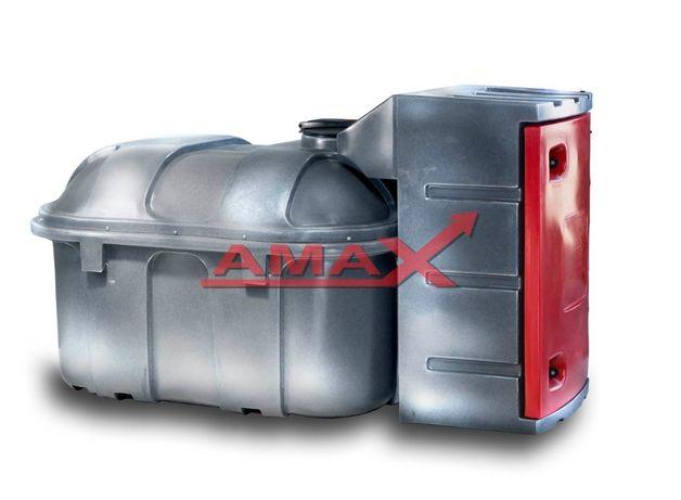 Zbiornik na olej napędowy 1500 litrów ON RATY Amax