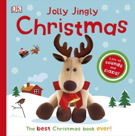 Jolly Jingly Christmas Музыкальная новогодняя книга подарок на новый