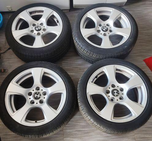 Jantes BMW c/ pneus semi-novos