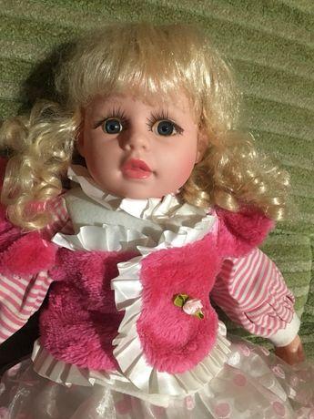 Интерактивная большая кукла