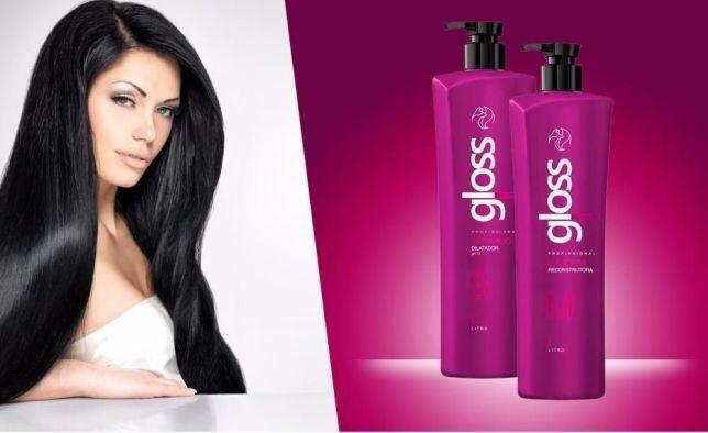 Кератин для выпрямления волос Gloss. Оригинал!