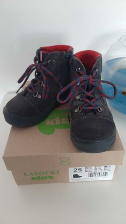 Buty zimowe dla chlopca Lasocki