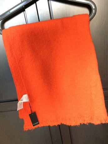 Szal szalik nowy pomarańczowy top secret ciepły