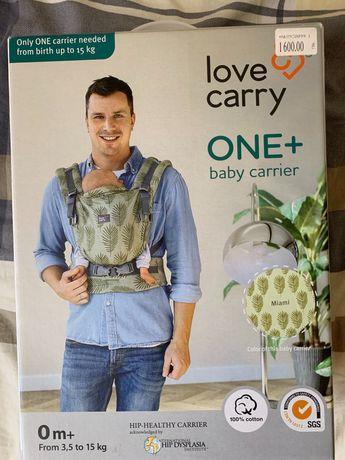 Ерго-рюкзак, кенгуру, переноска Love Carry