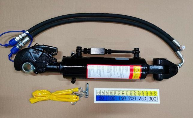 Hydrauliczny łącznik z glowicą i hakiem CBM 3/3 Dł. min-max 670-903mm