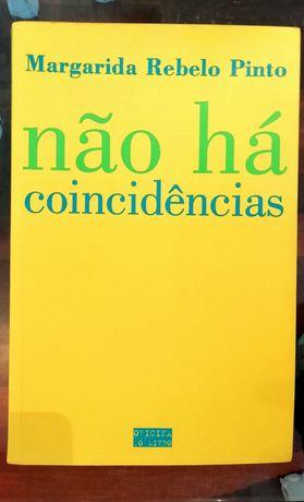 """Livro """"Não há coincidências"""" de Margarida Rebelo Pinto"""