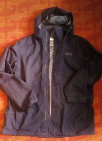 Куртка jack wolfskin с капюшоном