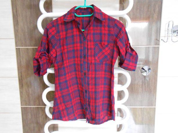 Koszula w kratę jak nowa!