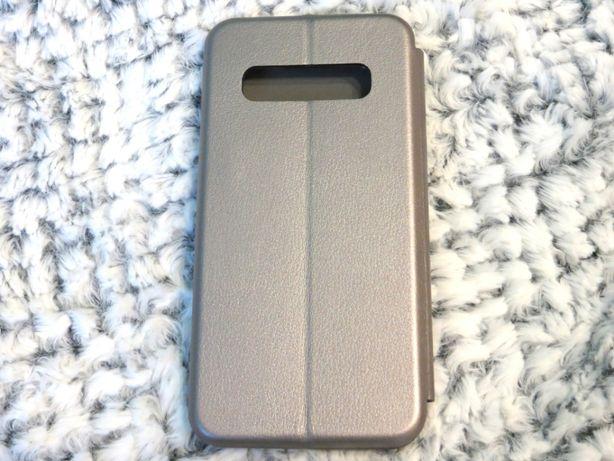 Szare, eleganckie etui na telefon Samsung Galaxy S10