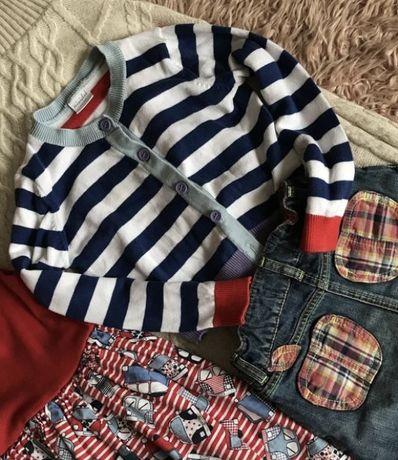 Бавовняний светр свитер Кофта Miniclub Англия. 5-6 лет(стан нового)