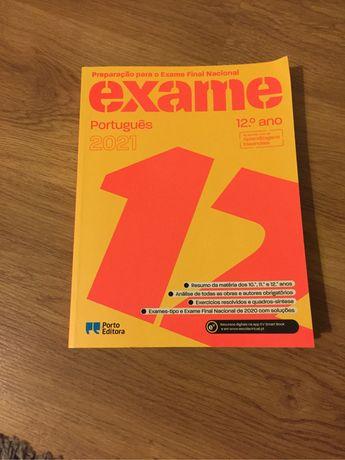 Livro de Preparação para Exame Português