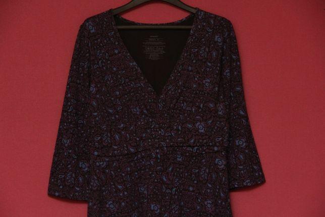 Patagonia рр M-L платье из органического хлопка и спандекса