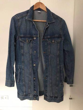 Kurtka jeansowa rozmiar 34 oversize