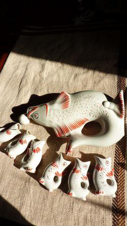 Сервіз Риба Набір посуду / Сервиз Рыба Рюмка Графин набор посуды